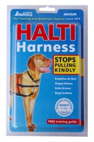 2 HALTI Harness medium packed