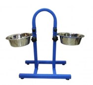 PetEx Food&Drink Stand Blue