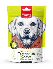 Wanpy-All-Natural-Toothbrush-Beef-Chew-For-Dog
