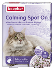 beaphar calming spot on cat