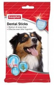 beaphar dental sticks large dog