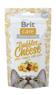 brit care cats truffles with cheese