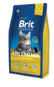 brit premium salmon cat