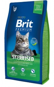 brit premium sterilised cat