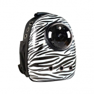 bubble travel bag zebra