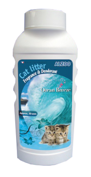 cat litter deodorant ocean breeze