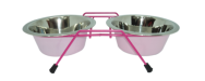 dish stand pink629