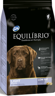 equilibrio light medium and large breed 15 kg