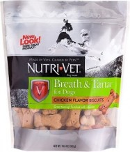 nutrivet dental biscuits dogs