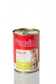 premio cat chicken lamb pate