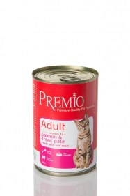 premio cat salmon trout pate
