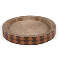 round bowl cat scratcher