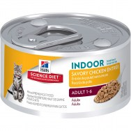 science diet feline adult savory chicken 3 oz