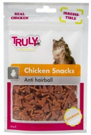 truly hairball snack