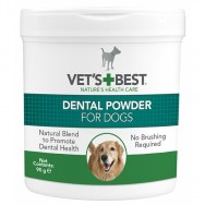vetsbest dog dental powder