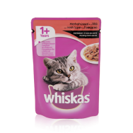 whiskas pouch beef